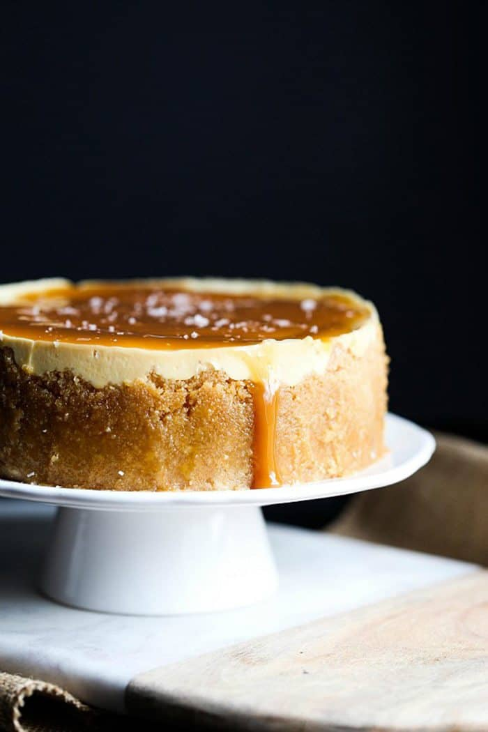 Instant Post Salted Caramel Cheesecake