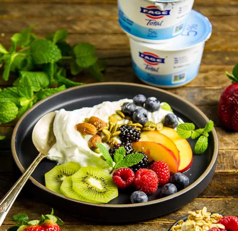 Greek Yogurt & Fresh Fruit