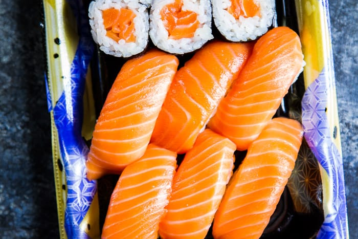 Wegmans Exclusive Alpine King Salmon Sushi
