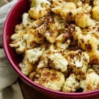 Garlic Herb Browned Butter Cauliflower