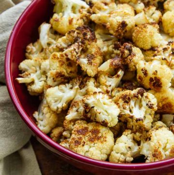 Garlic Herb Browned Butter Cauliflower