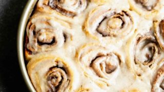 5-Ingredient Brown Butter Cinnamon Rolls