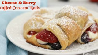 Stuffed Crescent Rolls With Berries & Cream Cheese