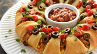 Chicken Taco Crescent Ring