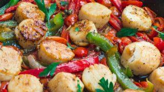 Easy Mediterranean-Style Scallops Recipe
