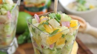 Grilled Scallop Citrus Ceviche