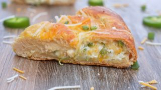 Jalapeno Popper Crescent Roll Ring