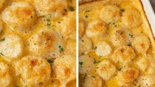 Ultimate Scallop Gratin