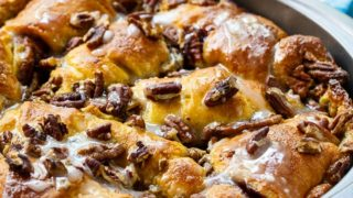 Crescent Roll Coffee Cake