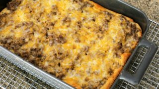 Ground Beef Stroganoff Bake