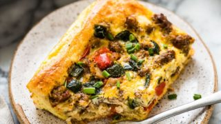 Tex Mex Sausage Breakfast Casserole - Isabel Eats {Mexican Recipes}