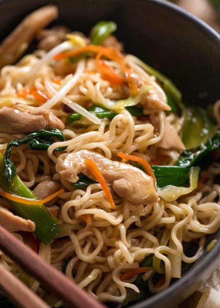 Chow Mein Ramen Noodles