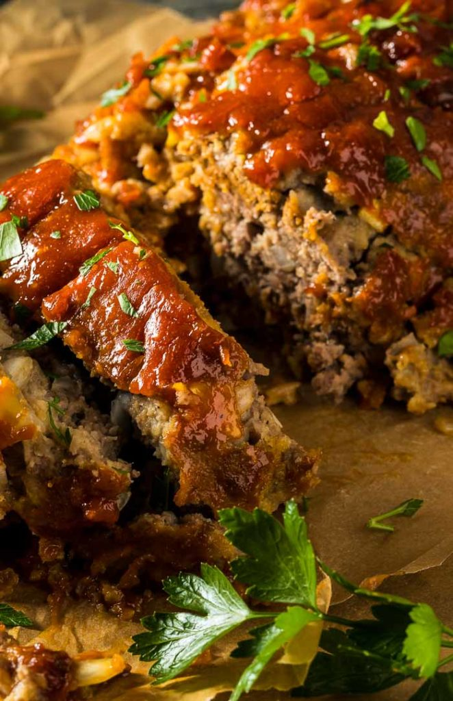 AMAZING Turkey Meatloaf Recipe With A Chipotle Glaze